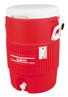 Igloo ® 5 gallon cooler with seat top