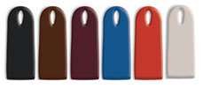 Coloris : minuit, chocolat, bordeau,  blue, pacifique, terra cotta, sable